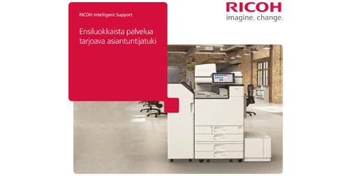 RICOH Intelligent Support -esite